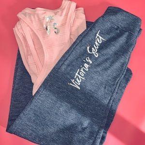 Victoria's Secret Comfy Sweats & Tank. Sz: Small